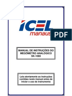 Manual Do Megometro Icel