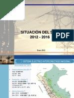 Situacion Del SEIN 2012 2016