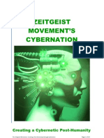 Zeitgest Movement and Venus Project - Cybernetic Totalitarianism