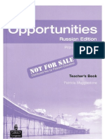 New Opportunities Pre-Intermediate Teacher's Book - Russian Ed