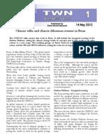 Third World Network – Bonn Update #1