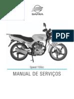 Manual de Serviços - Speed150