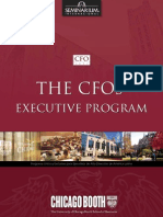 The CFOs Executive Program - Chicago Booth School of Busines