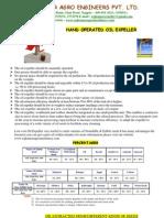 Expeller Catalog