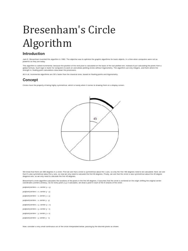 Bresenham | Algorithms (43 views)