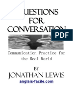 Questions for Conversation Jonathan Lewis