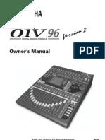Yamaha O1V96V2 Manual