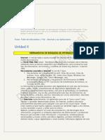 TICs - Resumen - Unidad 2