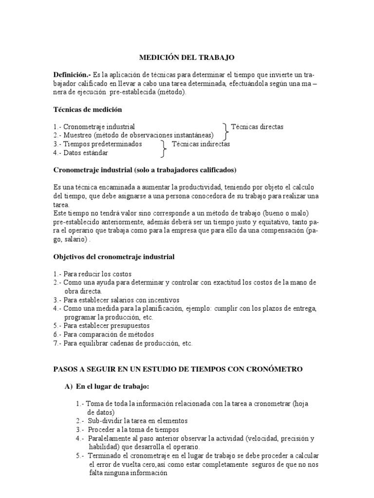 2p+Medicion+Del+Trabajo
