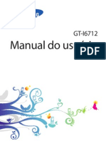Manual - Celular GT-I6712