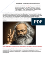 Karl Marx As Well As The Failure Associated With Communism