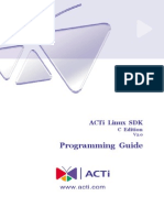 ACTi Linux-SDK Programming-Guide v2.0