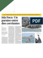 Isla Foca es un paraiso ecologia en Piura