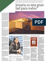 Educación se une a proyecto Lima Milenaria de Cultura
