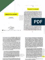 Said Edward - Orientalismo Parte1