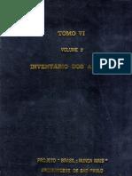 Tomo Vi Vol 2 Invent a Rio Dos Anexos