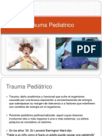 Trauma en Pediatria