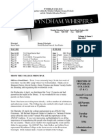 Wyndham Whispers May2012