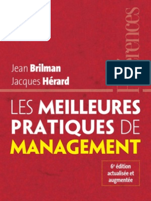 Les Meilleures Pratiques de Management | Management de la