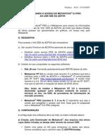 GUIA CONFIGURAÇÃO METASTOCK PRO x DDE ADVFN