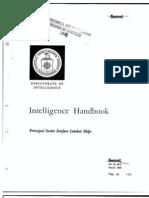 Intelligence Handbook Principal Soviet Surface Combat Ships