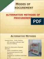 Alternative Methods.city Government of Manila
