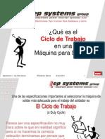 Ciclo_Trabajo Maquina de Soldar