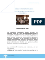 La Participacion Comunal PDF