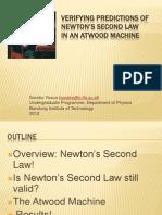 Sandro Yosua - Verifying Predictions of Newton's Second Law