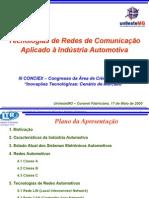 Tecnologia de Redes Automotivas-Conciex-2005