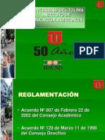 Opciones de Grado-universidad Del Tolima