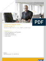 SAP Sourcing 7 Upgrade Guide IBM DB2