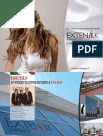 Brochure Extensilk - Italian