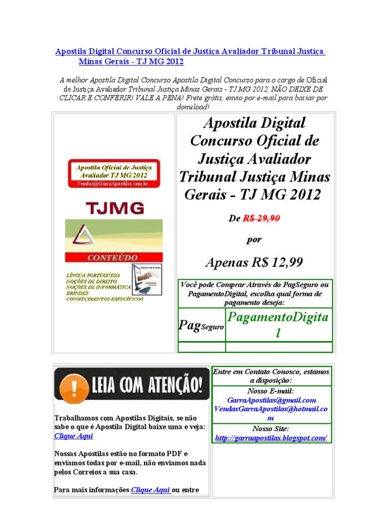 CONCURSO DO BAIXAR CORREIOS GRATIS DOS APOSTILA 2011