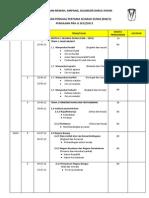 Rancangan Penggal Peengajaran T6 Sesi 2012/2013