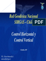 Red geodésica Nacional SIRGAS IGM