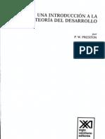 Preston-Estructuralismo y teoría de la dependencia