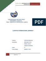 Logistica Internacional trabajo