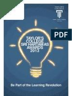 Taylor's College Sri Hartamas 2013 Brochure