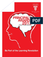 Principal's Awards 2013 Brochure