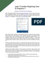 Cara Menangani Batrai Pada Windows 7