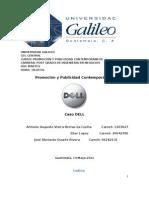 Caso Dell - Ingeniaria de Negocios - Universidad Galileo - Promoción y Publicidad Contemporaneos
