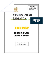 Vision 2030 Jamaica - Final Draft Energy Sector Plan, 9-2009