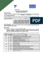 Rúbrica Informe Física