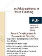 Advancements in Textile Finishing