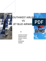 South West Airline vs Jet Blue Airways Ppt 1 V