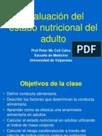 Evaluacion Del Estado Nutricional Del Adulto