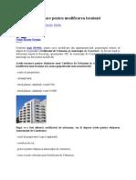 Documente necesare pentru modificarea locuinţei
