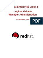 Red Hat Enterprise Linux-5-Logical Volume Manager Administration-En-US