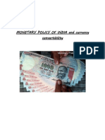 Monetary Policy and Currency Convertibility (2)